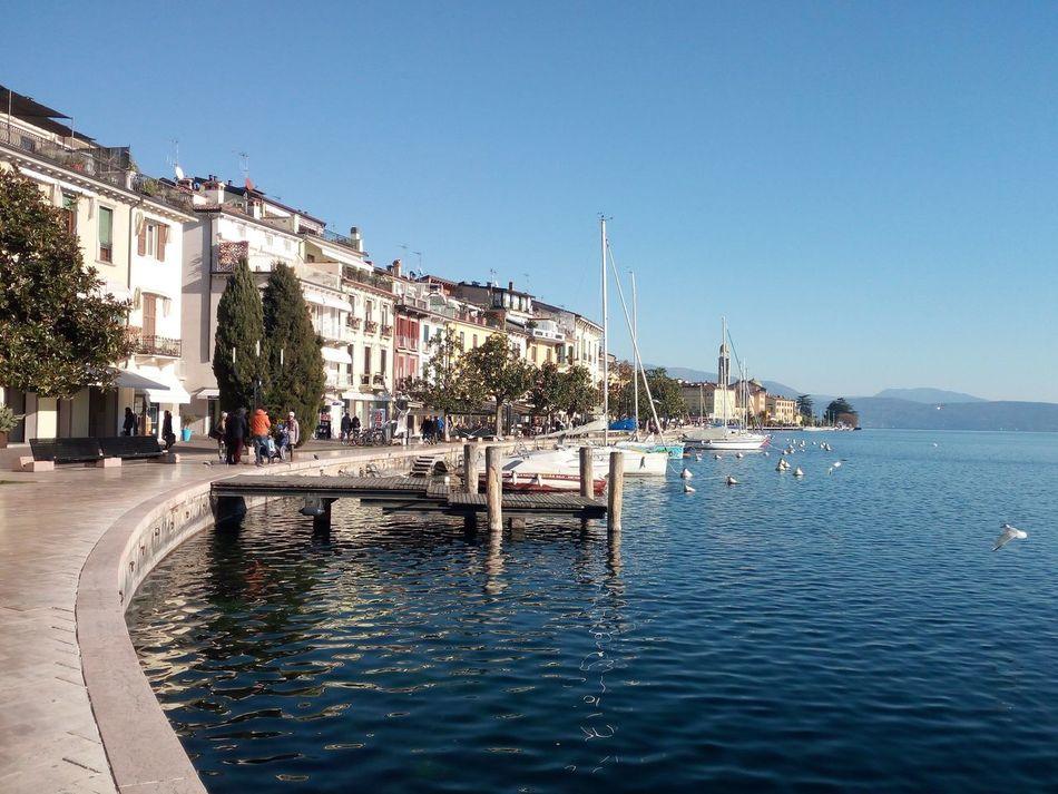 Famous Place Garda Garda Lake Garda Lake Italy Italy Lake Lake Of Garda Landmark Salo Sky