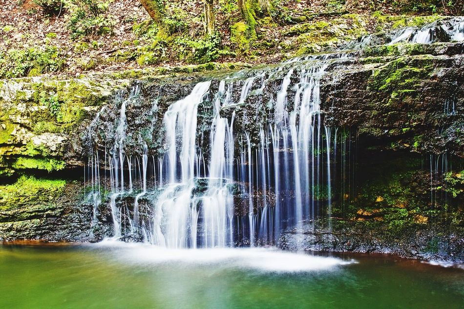 Flowing Water Waterfall Canon1000d Eye4photography  Canonphotography Takethemomentmakeitperfect Tranquil Scene Long Exposure Free Sunday Nature Woods Water