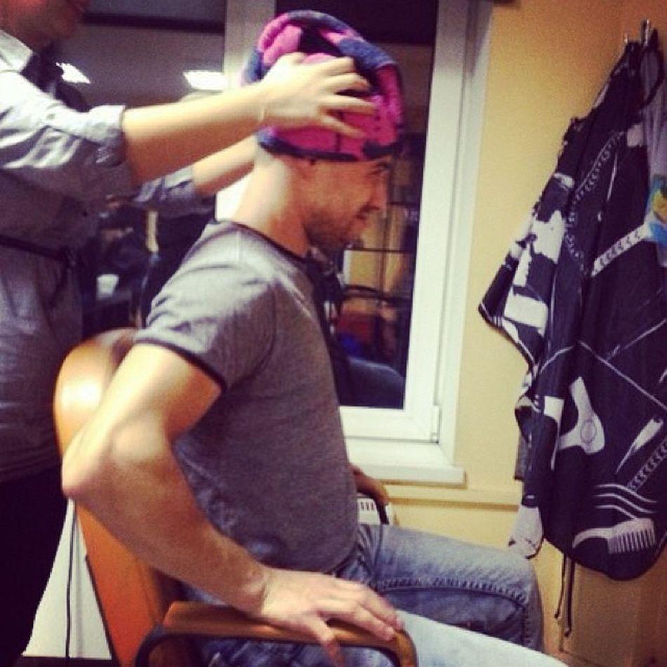 парикмахер стрижка полотенце волосы boy follow followme