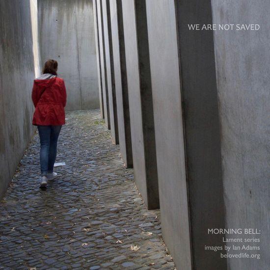 no6 in #Lament series Stillness Prayer Contemplation Jeremiah Holocaust Memorial Berlin Daniellibeskind