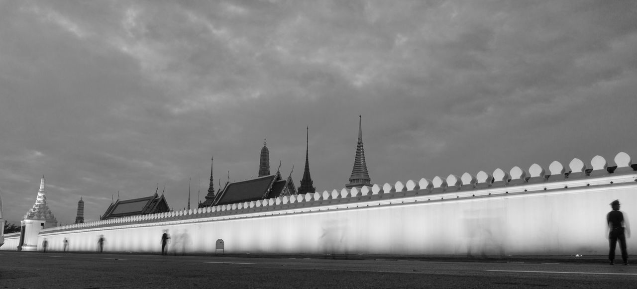 Architecture Bridge - Man Made Structure Built Structure Day Grand Palace Bangkok Thailand Horizontal King Bhumipol Adulyadet No People Outdoors Sky Travel Destinations