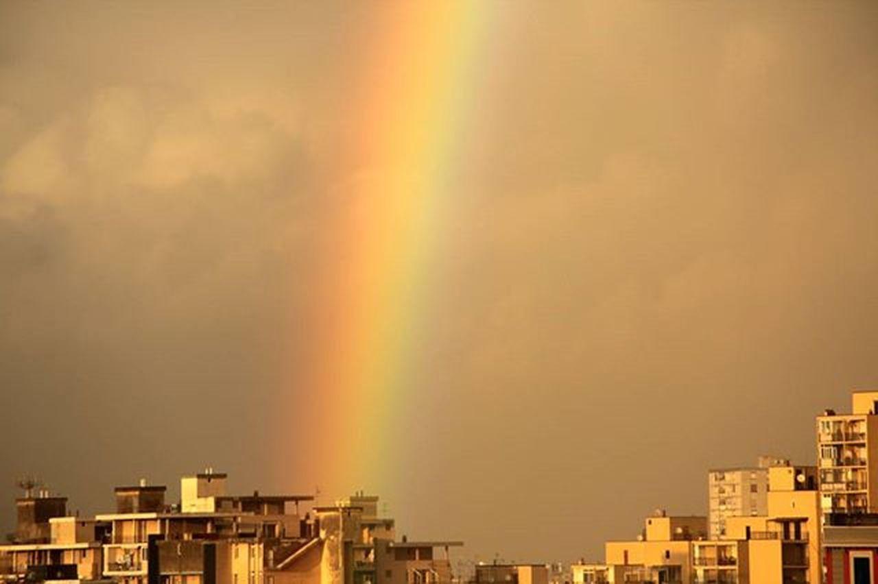 Arcobaleno  Cielo Ylber Qielli Sky Rainbow Napoli City