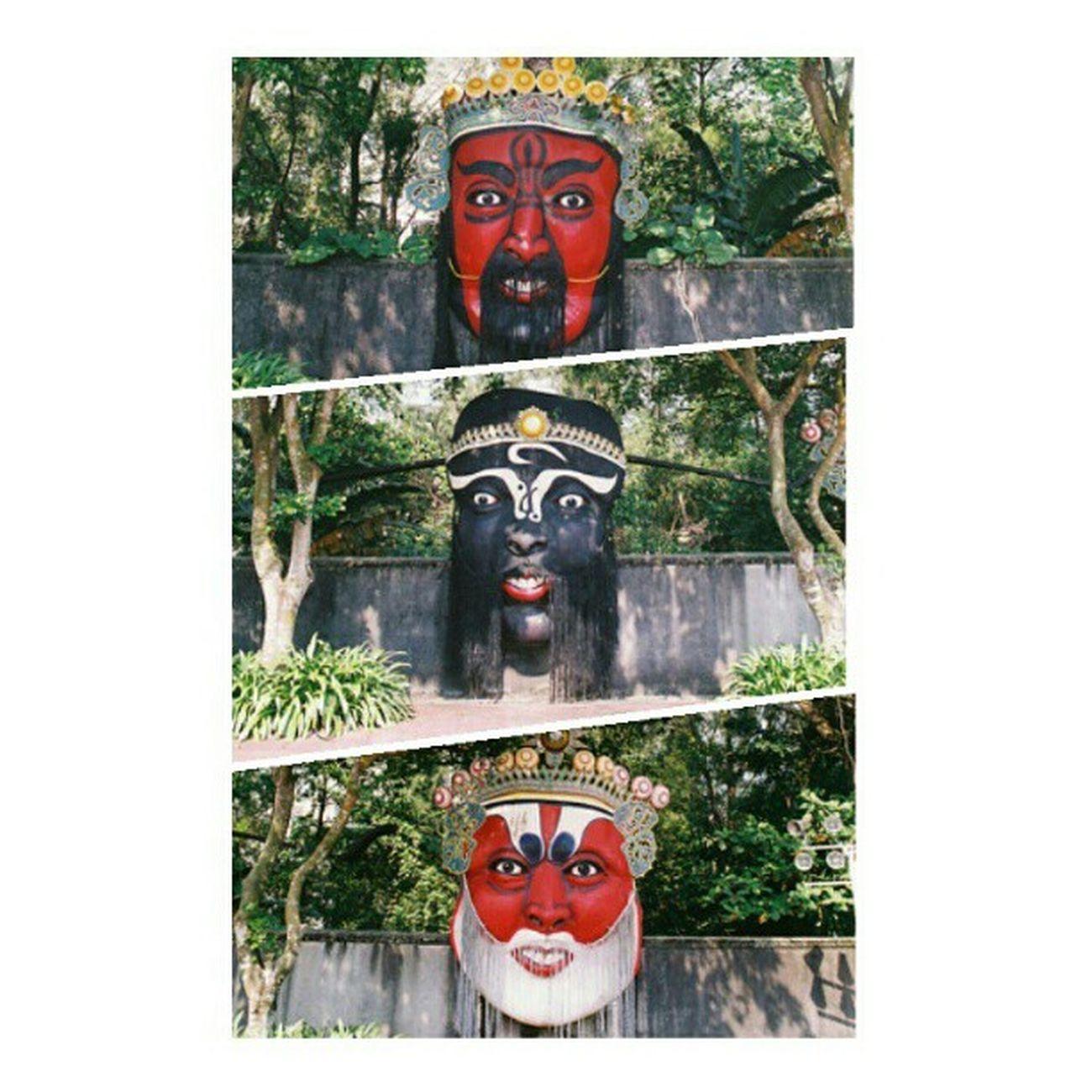 The three giant faces in Haw Par Villa. Instadaily Ignation Street Igsg Streetphotography Instahub Singapore Instagramsg Photography Sgig Nikon Sginstagram Photooftheday Tenchoujoe Picoftheday Retrosg Sg Fm3a ASIA Hawparvilla Nofilter Bestoftheday IGDaily Instagramhub Webstagram