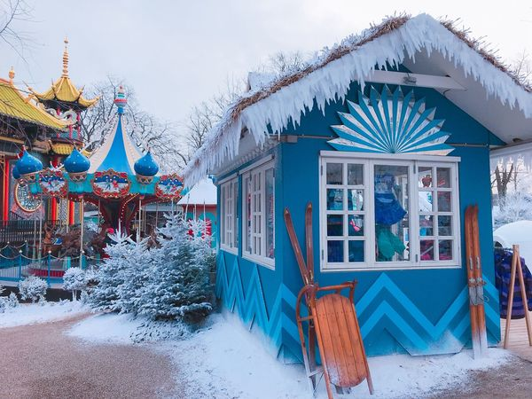 Snow Winter Cold Temperature Day Outdoors Built Structure Building Exterior