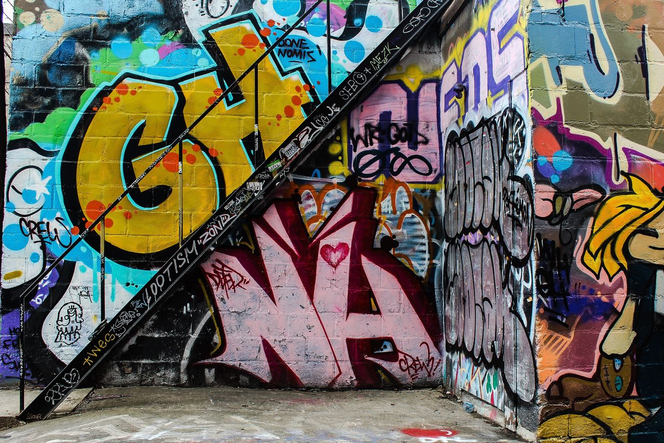 Graffiti Street Art Spray Paint Building Exterior Graffiti Alley Toronto
