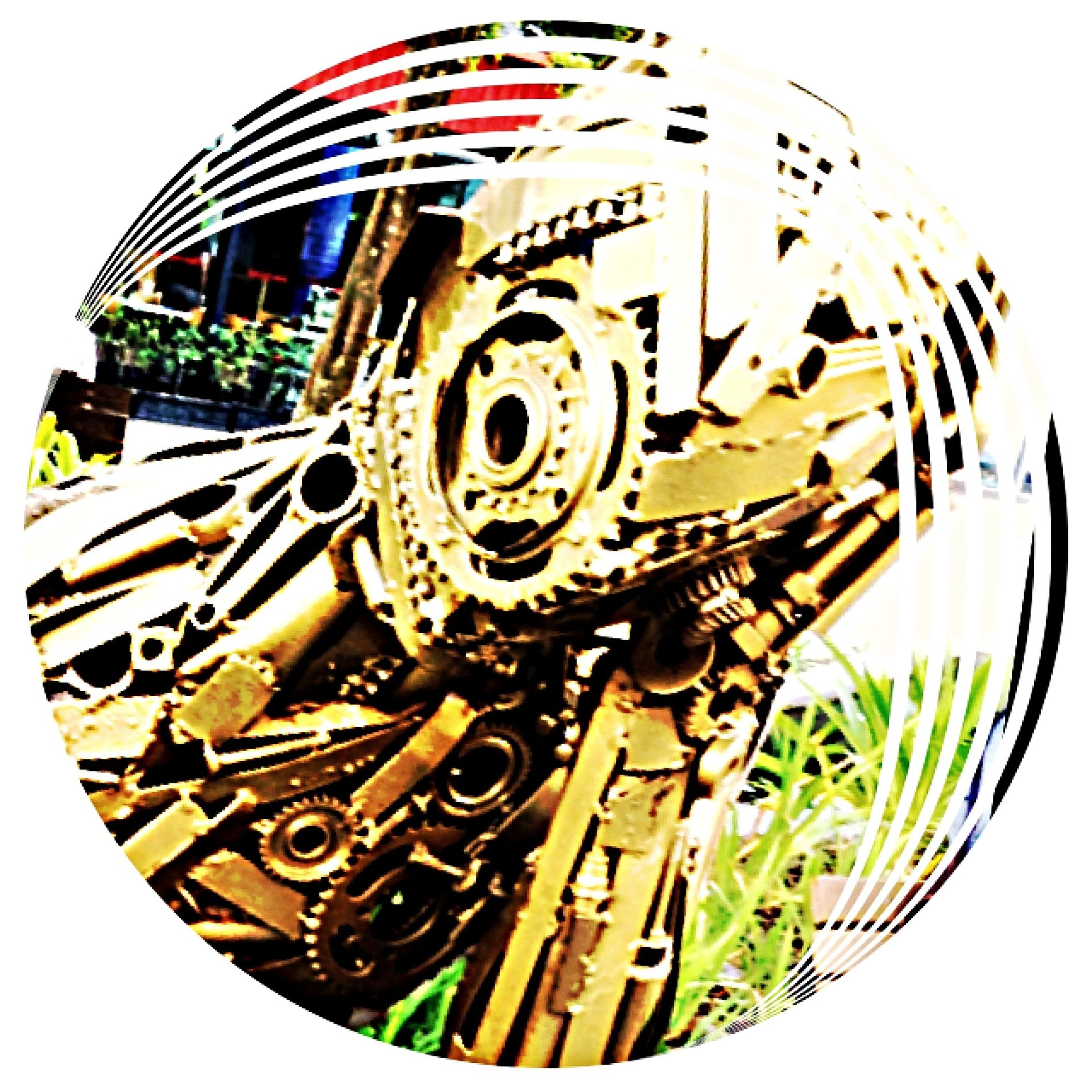 close-up, arts culture and entertainment, metal, low angle view, amusement park, wheel, outdoors, rusty, day, amusement park ride, abandoned, no people, obsolete, metallic, tire, old, clear sky, transportation, circle, part of