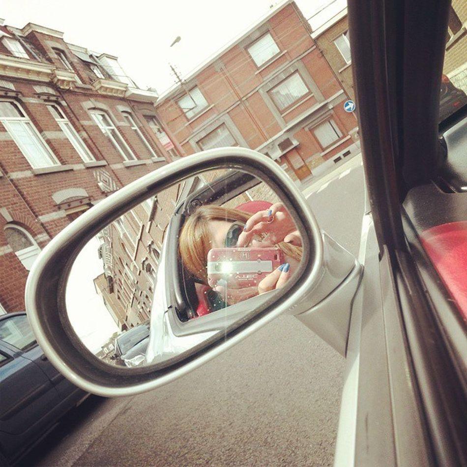 Avant ça, j'ai un peu profite du soleil avant la pluie ♡ Honda CRX DelSol Hondacrxdelsol civic hondaforlife crxdelsol delsolforlife lovemycar lovemydelsol happy sun weekend