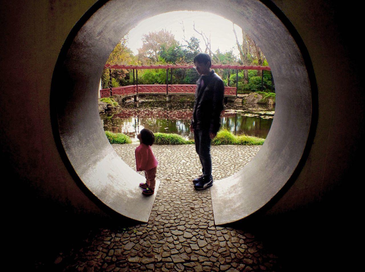 The Global EyeEm Adventure Waikato Hamiltongardens Hamilton Gardens Hamilton Chinese Garden Father And Daughter EEA3_CambridgeNZ EEA3 Fall Beauty Ipadphotography