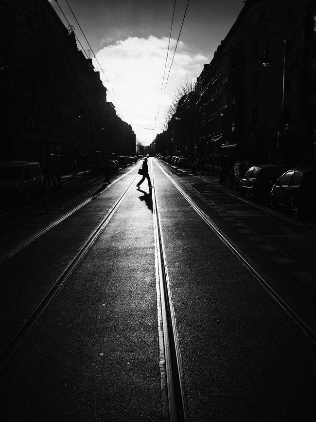tram tracks Streetphotography Streetphoto_bw Blackandwhite Tramtracks