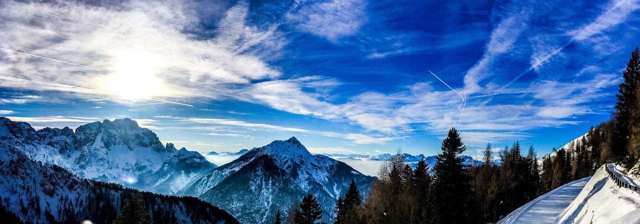 Sci alpinismo su Lussari... Lussari Scialpinismo Montagne Mountain Nature Winter Inverno