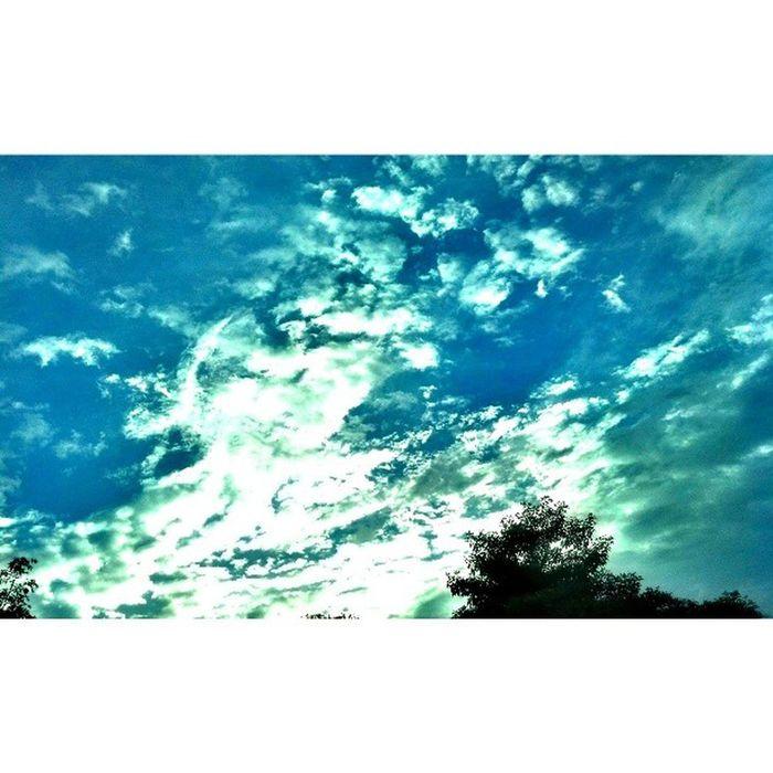 Subhanallah so nice. Awanbiru Senjakala Cloud ILoveSky