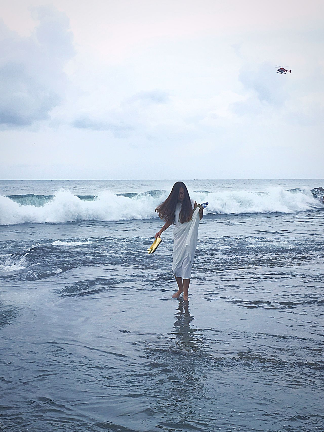 Solace Sea Horizon Over Water Wave Beach Water Surf Bird Scenics Tranquil Scene Animals In The Wild Sky Surfing Tranquility Surfboard Shore Beauty In Nature Nature Flying Full Length Solitude Tanah Lot Bali, Indonesia Tanah Lot
