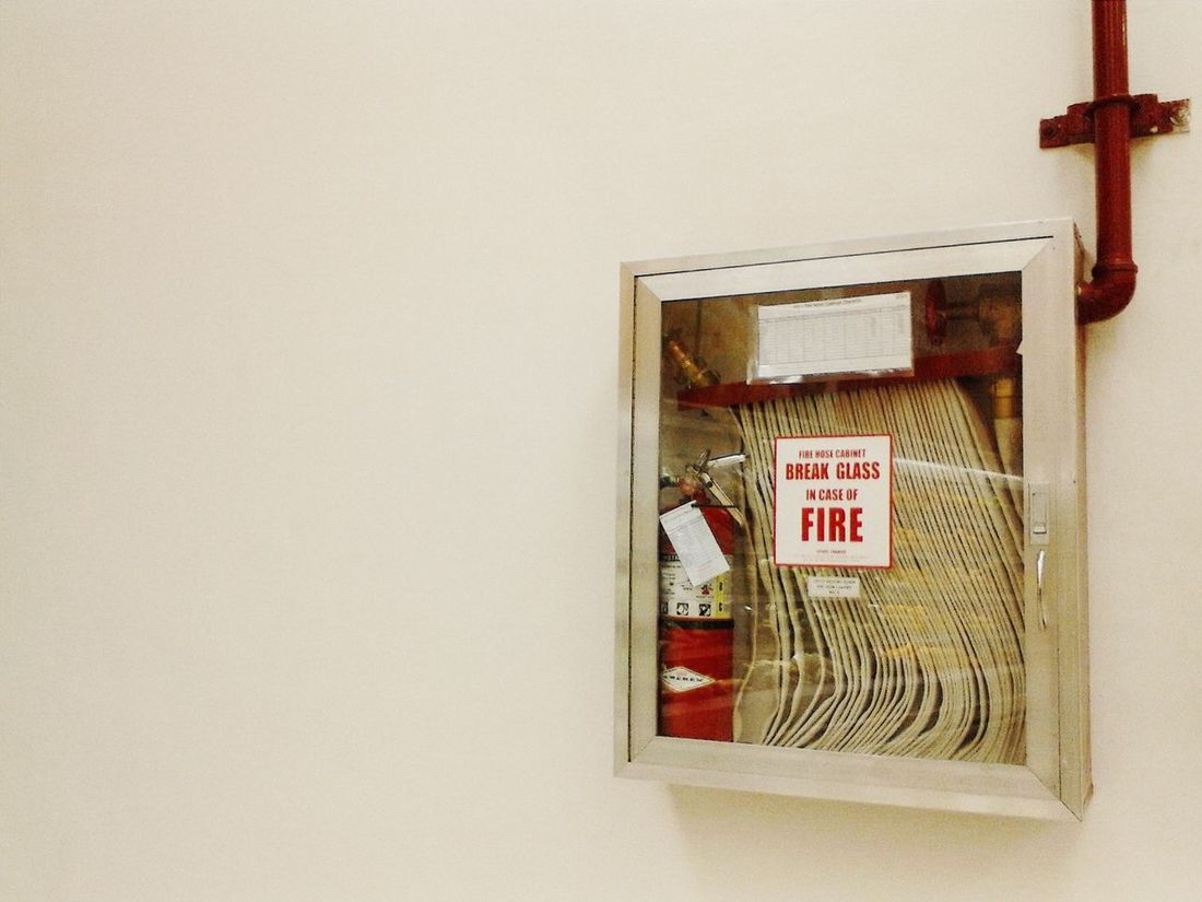 Break glass in case of fire. Fire Hose Streamzoo Family EyeEm Best Shots