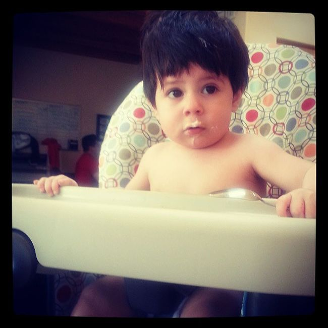 Cutest guilty face ever! Itwasntme LIAM