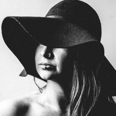 3/3 Her Adult Adults Only Beautiful Woman Beauty Close-up Day Front View Hat Headshot Human Face Indoors  Lifestyles One Person One Woman Only People Portrait Real People Women Young Adult Young Women