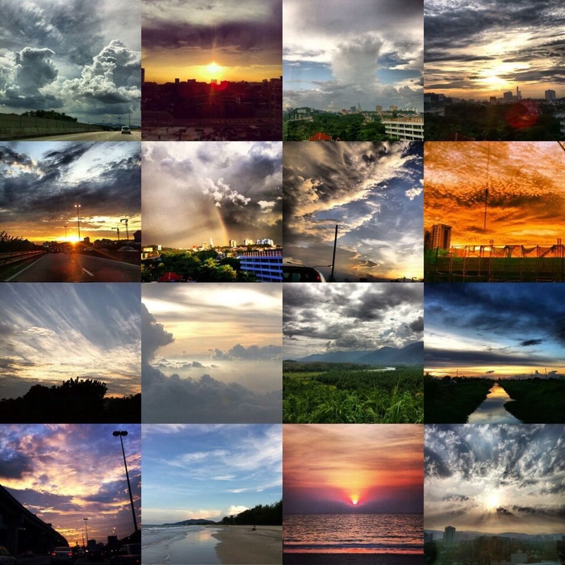 09-Jan-2015 Repost from my Instagram acct ofMy Collectionn of theBeautifullClouds FormationnSunrisee &Sunsetss inMalaysiaa from 2010 till today, taken with my Iphone4 IPhoneography