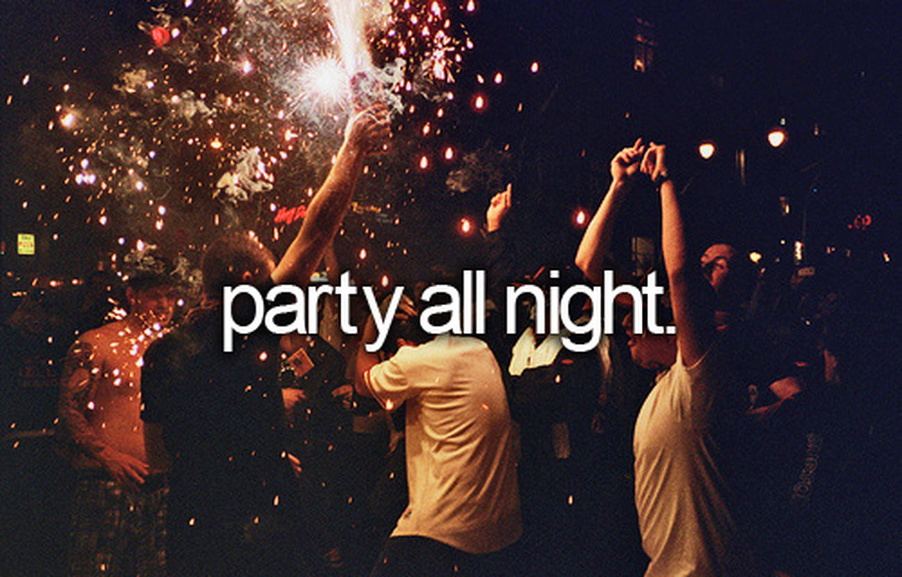 Wooo Hooo! Let's Party!