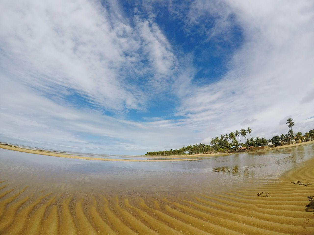 Sand Beach Water Landscape Sea Travel Destinations Tourism Scenics Beauty In Nature Sand Dune Outdoors Summer Tranquility Tide Tranquil Scene Low Tide Nature Marram Grass Cloud - Sky Desert Gopro Goprohero5black
