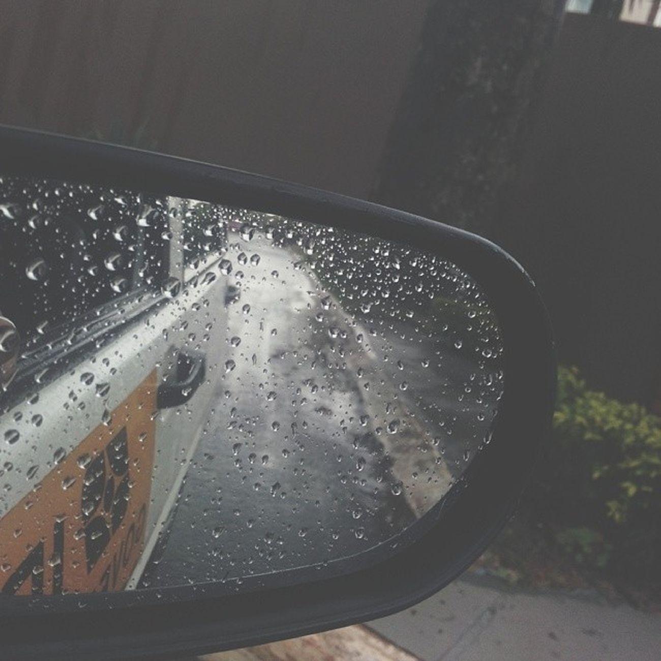 Rearviewmirror RainyDay
