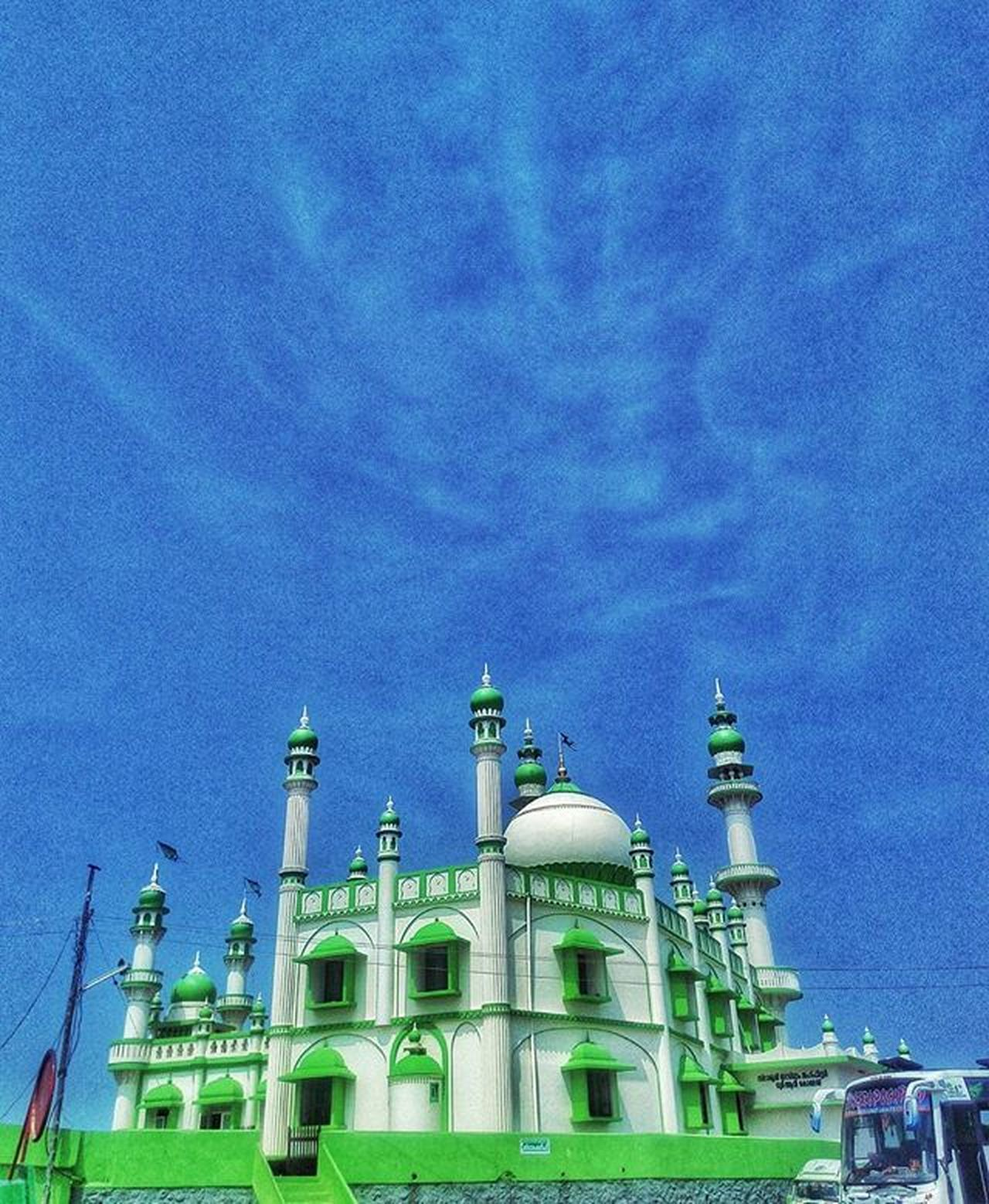 Mosque ☀ . Islam Muslim Mosque Church God Blessing Showered Prayer Happy Love Trivandrm Thiruvananthapuram Vizhinjam Trip VSCO Vscocam Vscogood Instagram Instafollow Indian Kerala Instamood Instagood Instanight