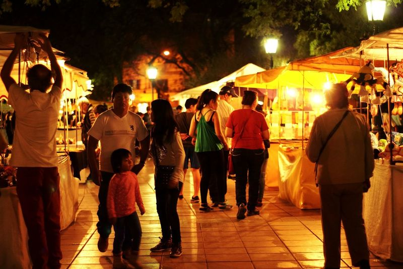 during the weekend you can go to the Independencia square were local artist sell their work Night Lights Night Life Night Photography Walking Around Mendoza Sony A58