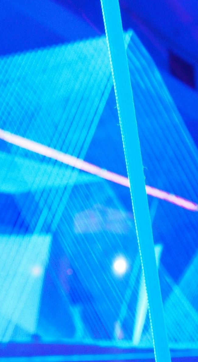 Lines, Ropes and Blacklight.
