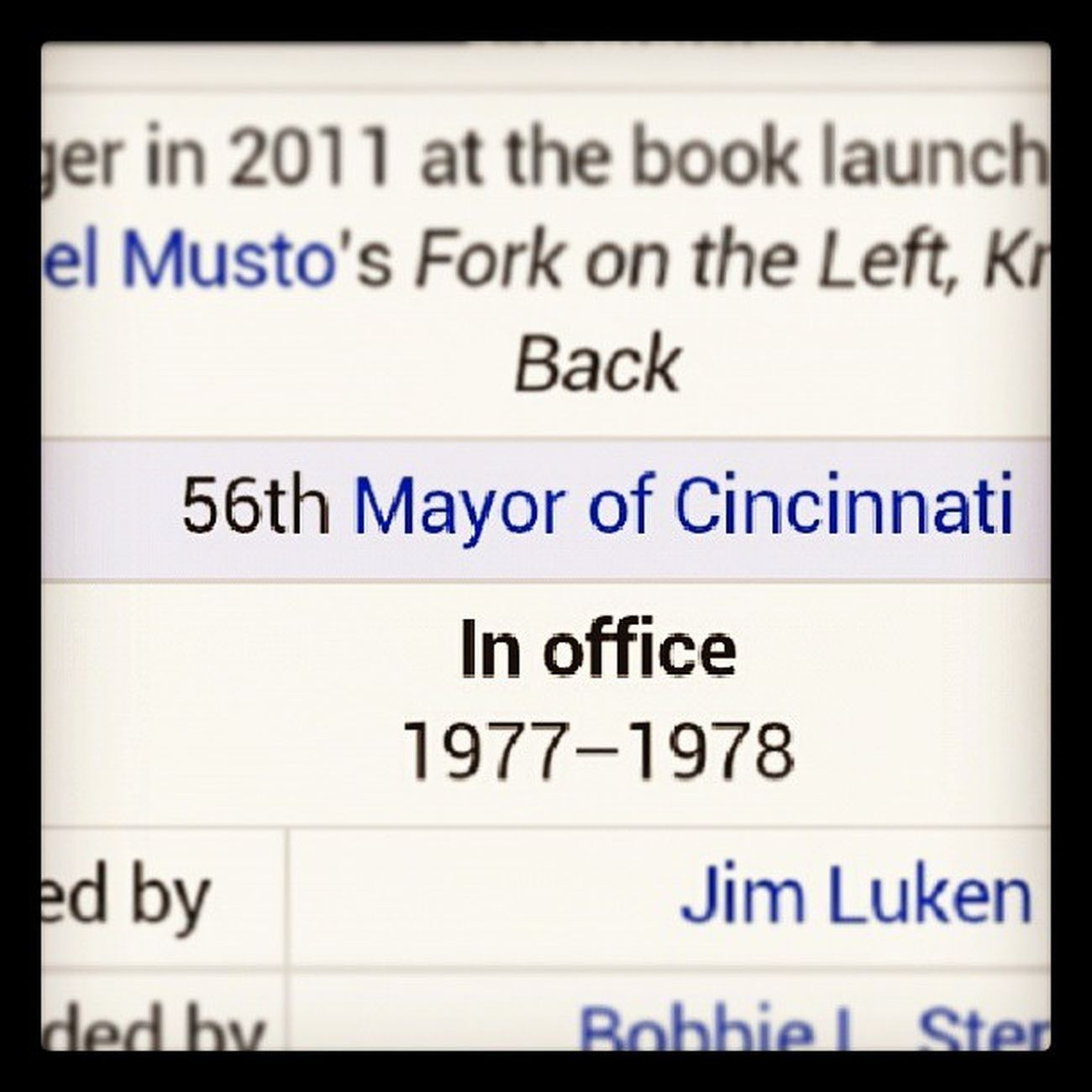 WTF?? JerrySpringer IS THE MAYOR OF CINCIJATTI LIKE WHAT Pardon