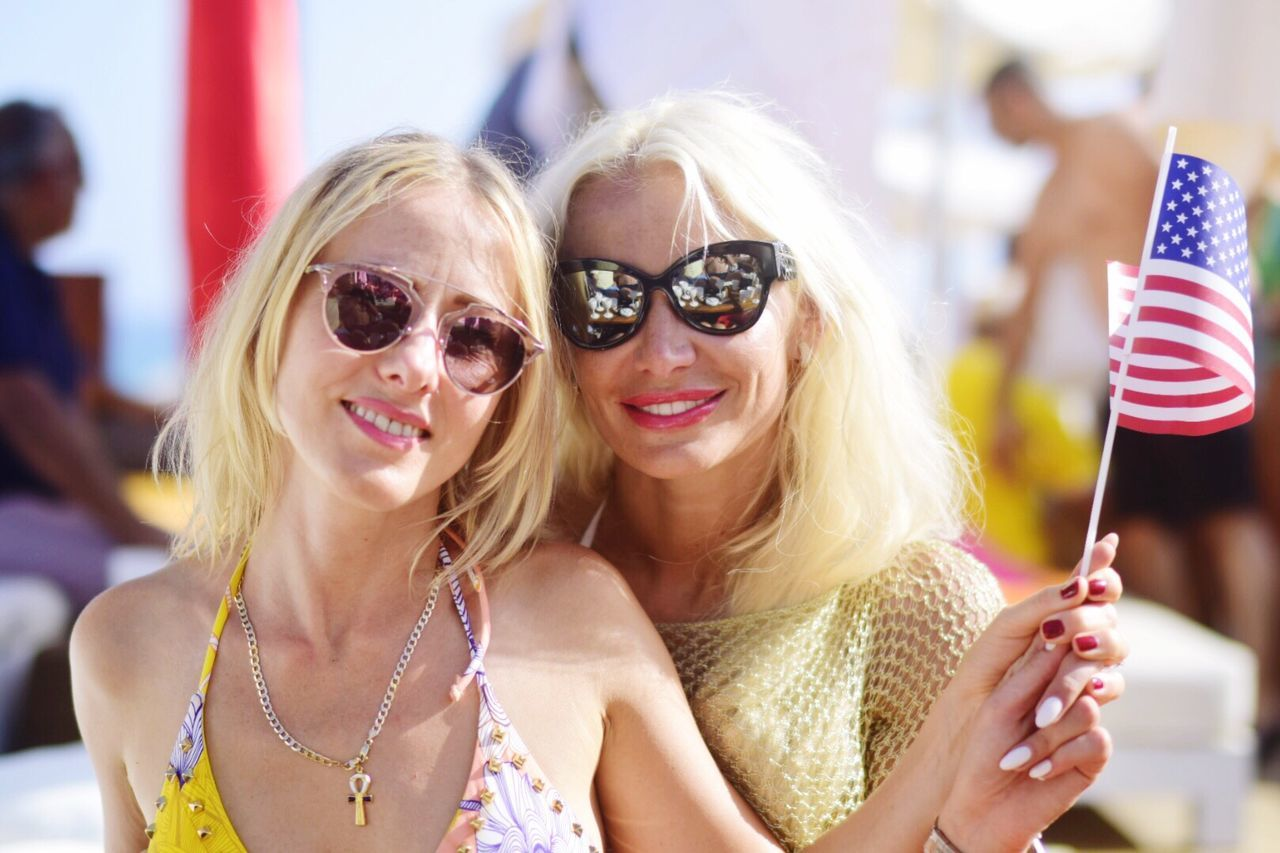 Celebrating 4th July in Nikki Beach. Summer Photography Enjoying Life Relaxing Taking Photos Andalucía Girls Party Independence Day
