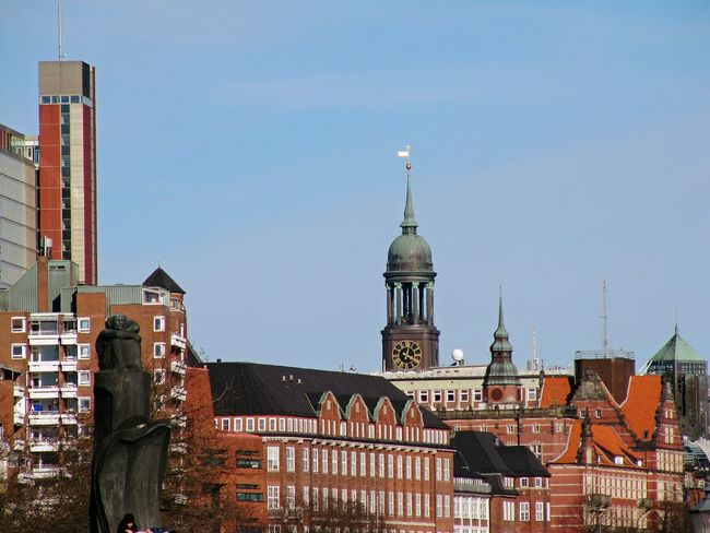Hamburg City St.Michaelis Urban Skyline Politics And Government Cityscape No People Outdoors Day Architecture Sky Travel Destinations Taking Photos Taking Pictures Timepaint72 Hamburg Urban Scenes Urban Scenery Urban Architecture Cityscape City