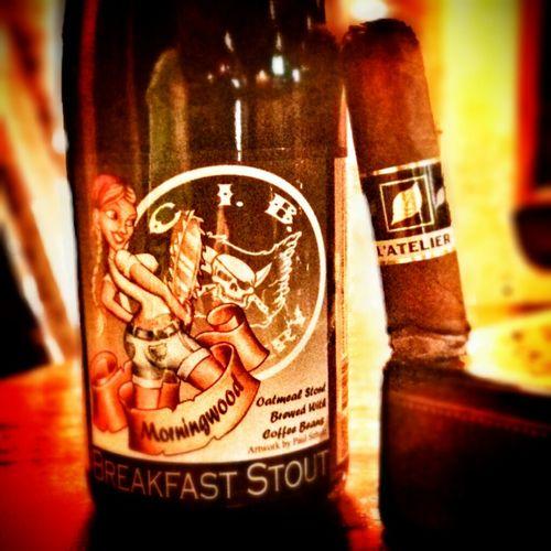 CIBBrewing Morningwood BreakfastStout Craftbeer #cigars