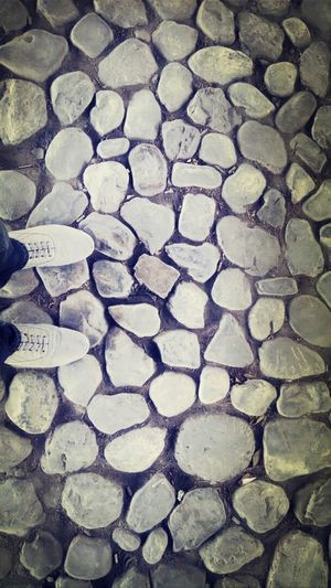 Simple things that may turn into amazing ones Stones Taking Photos View Shoes