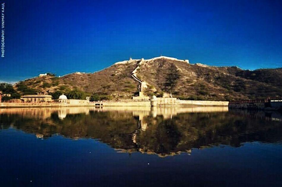 Amer Fort Lake Historical Building Jaipur Rajasthan India Incredible India Amazing Architecture Lakeside EyeEm Best Shots Perfect Match Thegreatoutdoorswithadobe