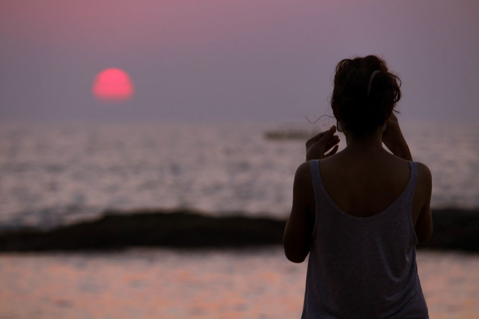 Beautiful stock photos of bora bora,  Adult,  Adults Only,  Arms Raised,  Beach