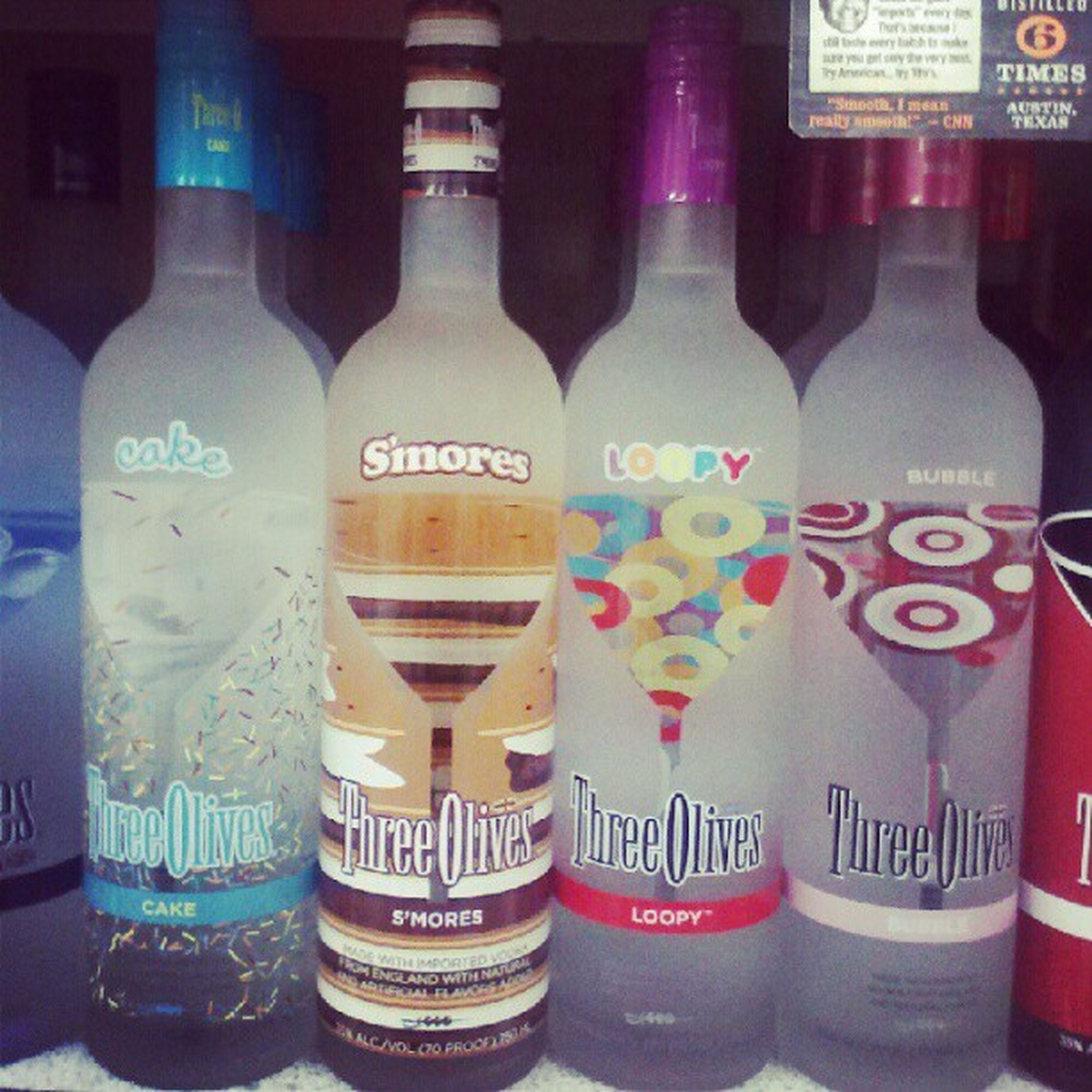 Gettin drank! 3olives Bevmo