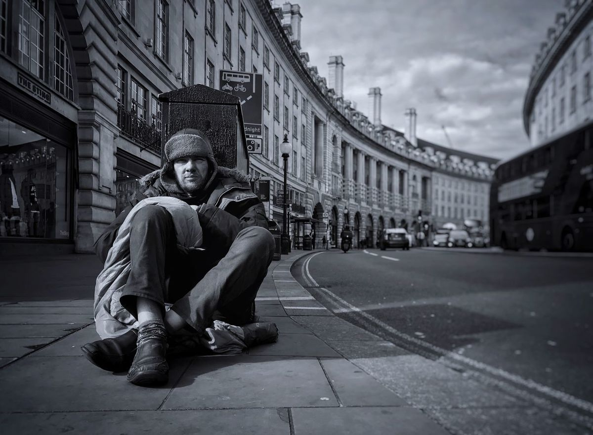 www.justgiving.com/crowdfunding/ourhomeless - Help Our Homeless Help Our Homeless People Help Helping Helping Others When None Of This Really Matters People Adult Day Outdoors One Man Only Real People Looking At Camera Architecture Charity