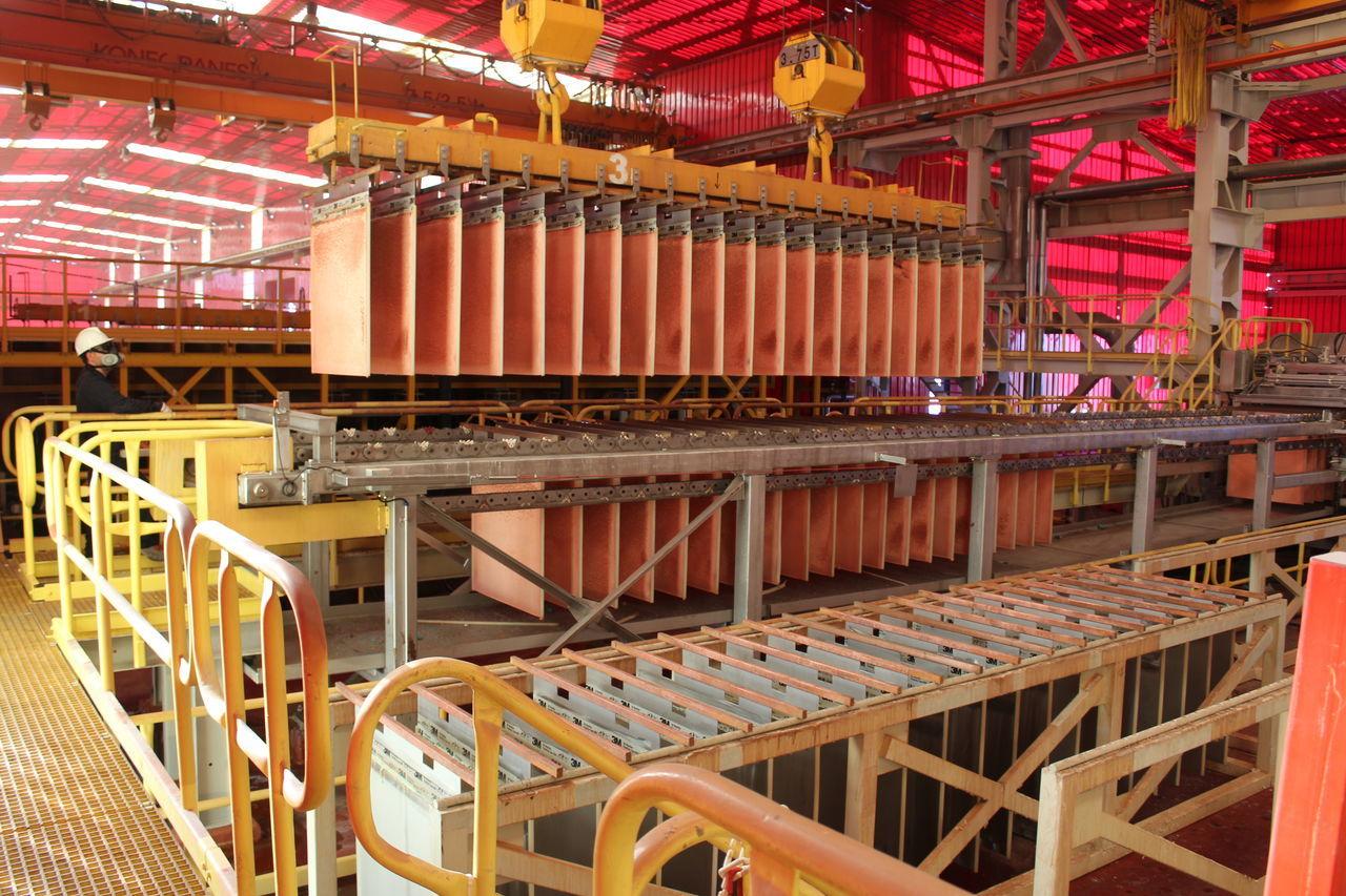 Antuco Chile Cobre Cooper Minería Mining