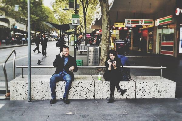 EyeEm Best Shots at Cnr Of Bourke/Swanston by Michelle Robinson