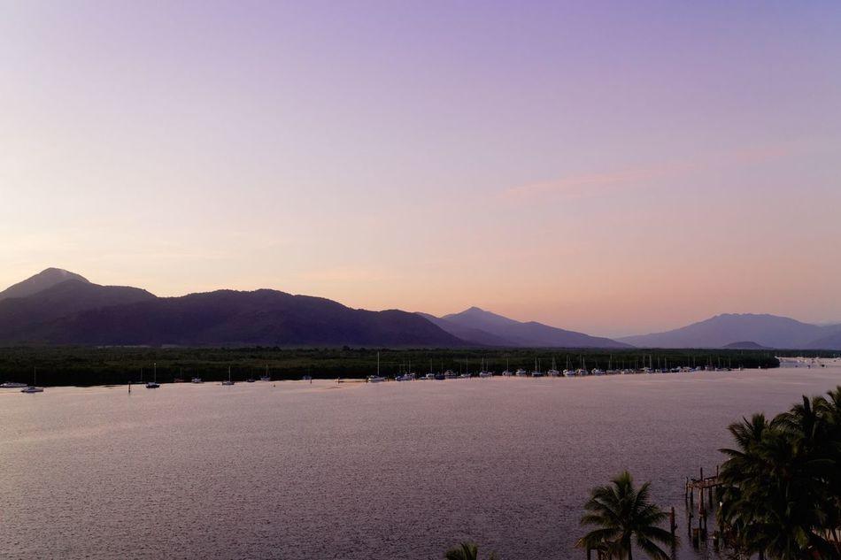 Sunset Landscape Sunset Silhouettes Cairns Thisisqueensland Queensland Australia
