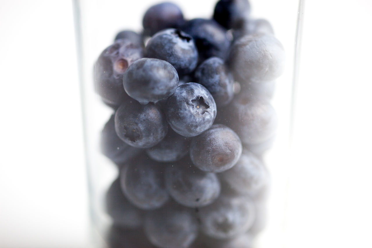 Beautiful stock photos of obst, Berry Fruit, Blueberry, Close-Up, Drinking Glass