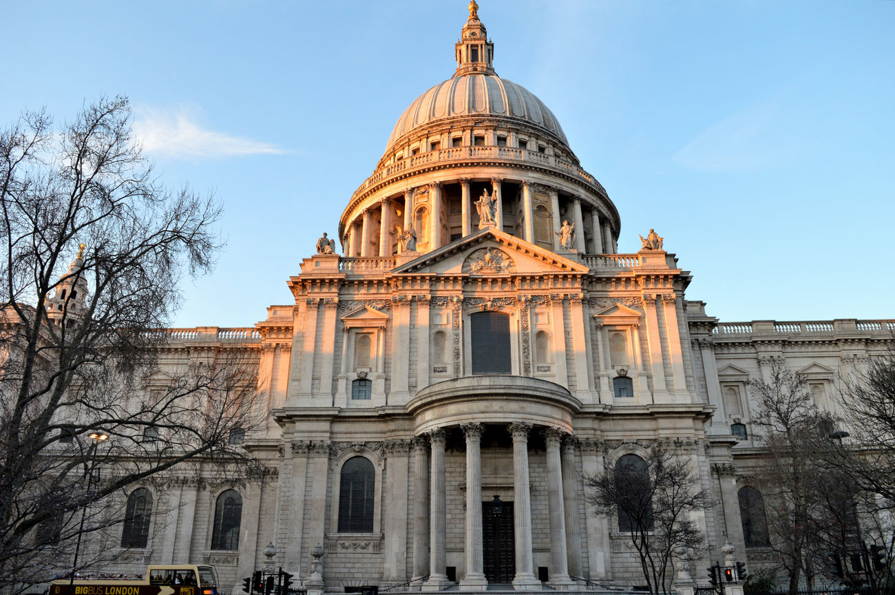 Church StPaulscathedral Saturday Evening