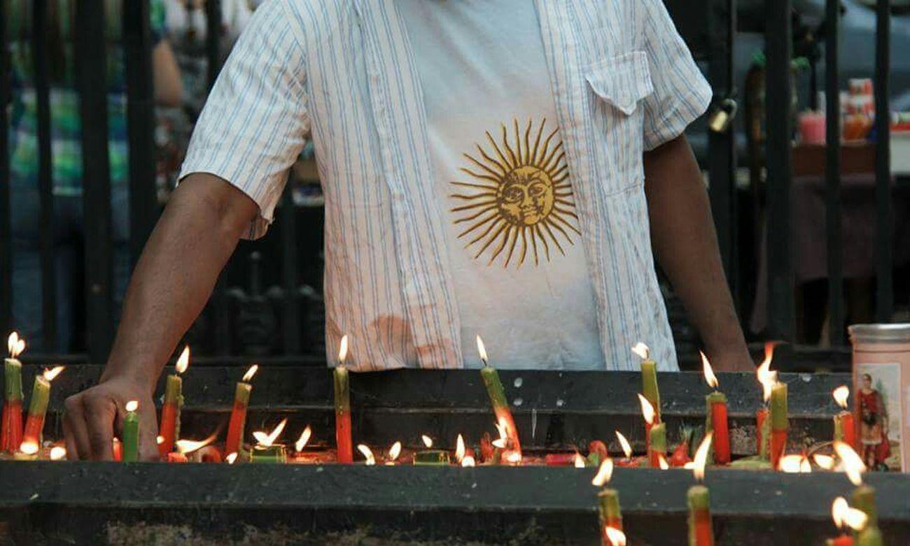 Urban Lifestyle El santo de las causas urgentes . Saint San Expedito Agentina First Eyeem Photo Church Pray Buenos Aires Balvanera