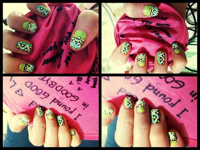 Nailart  Painting My Nails Love My Nails :*  Dotted