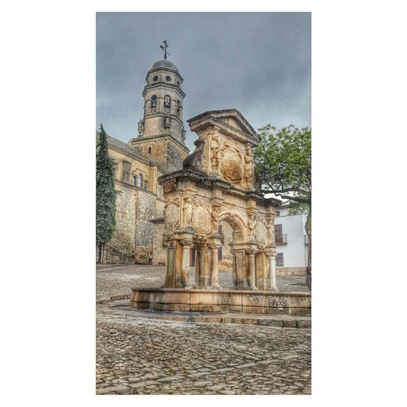 Cathedral in Baeza , Spain