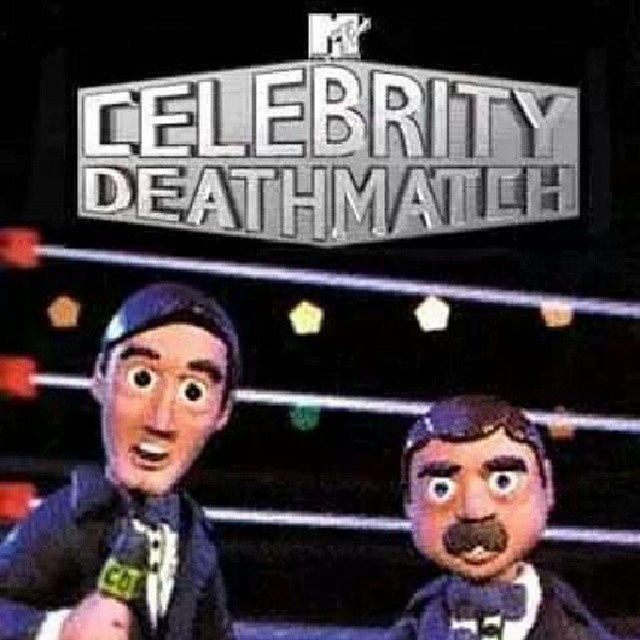 Pos nomas recordando el buen Mtv CelebrityDeathMatch Mansoninvictus :')