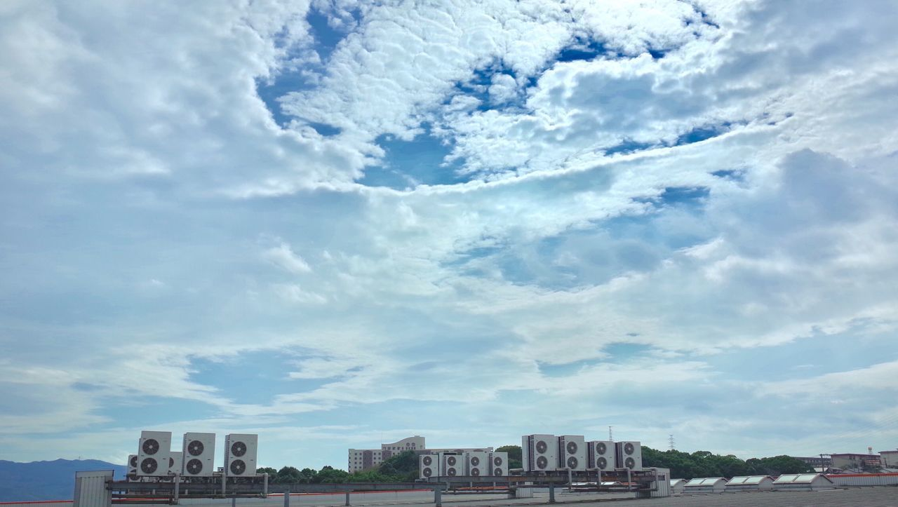 architecture, cloud - sky, built structure, building exterior, sky, day, no people, city, outdoors, cityscape, nature