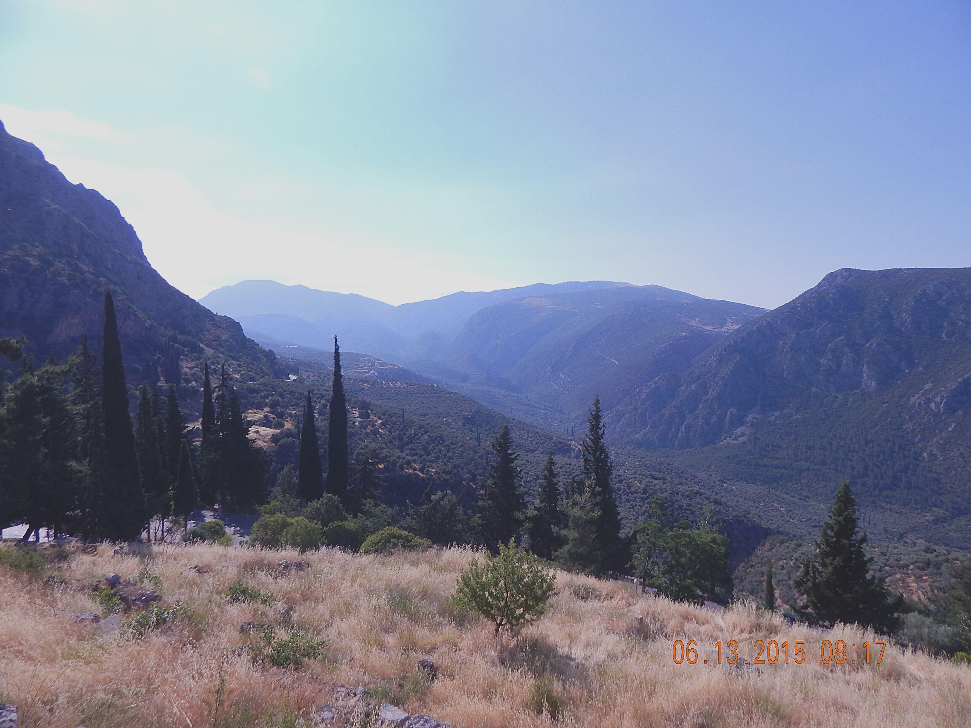 Temple of Apollo Mountains Traveling