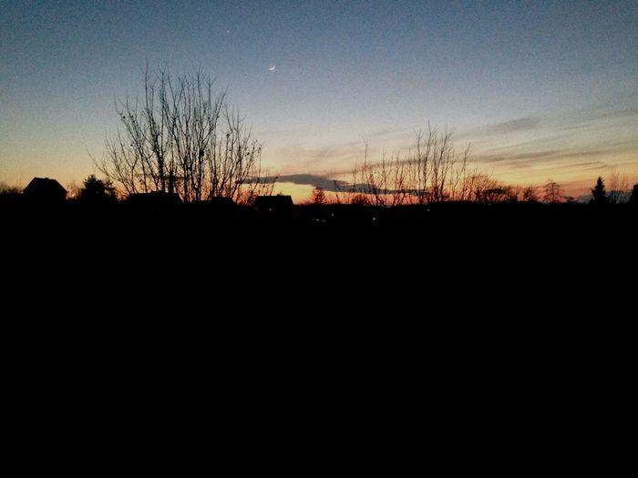 Sunset in Saxony