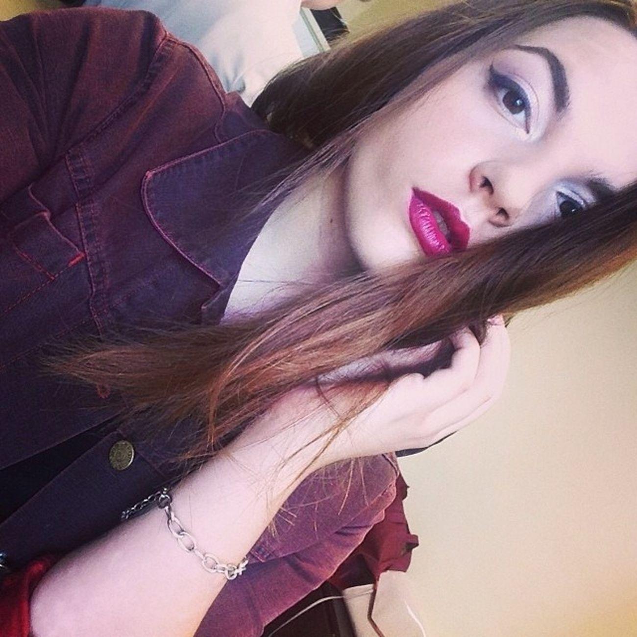 Мой макияж для томной красавицы Юлианны тестировали помадку MAC Rabel в студии @probeautystudio Mua Makeupartist Minsk Belarus probeautystudio probeauty vinolips mac rabel