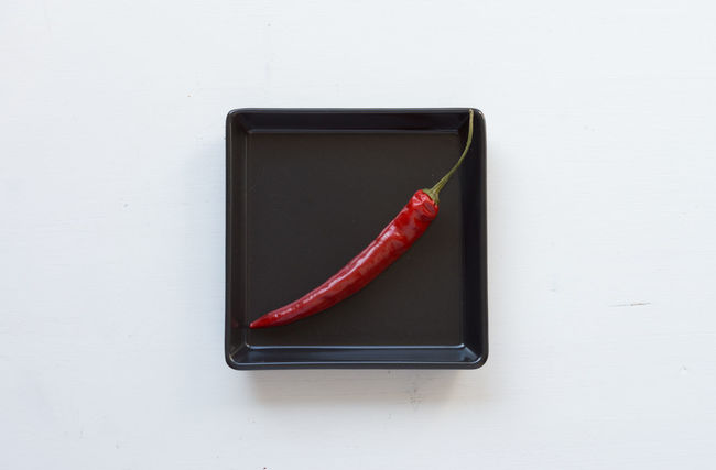 EyeEm Selects No People Red Indoors  Close-up Day Red Pepper Chili Pepper Food And Drink EyeEmNewHere Healthy Eating Freshness Table High Angle View Plate Food Studio Shot