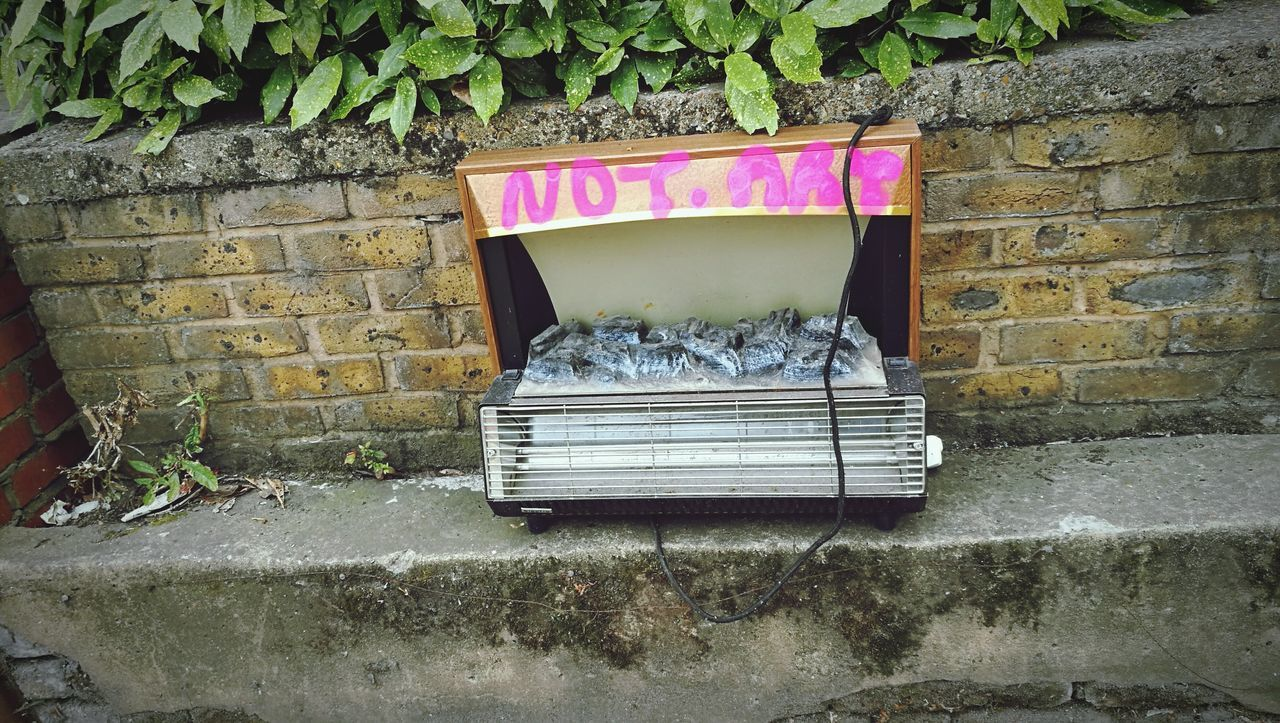 not art Urban Waste Check This Out London Street Art Discarded Urbanphotography
